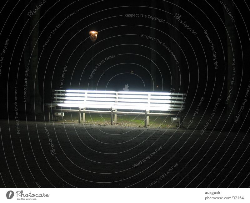 Sitzlaterne Lampe Wege & Pfade Park Beleuchtung sitzen Bank Laterne obskur