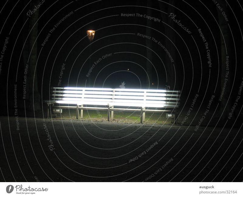 Sitzlaterne Park Nacht Licht Bank Laterne obskur Lampe sitzen Wege & Pfade Strahlebank Beleuchtung