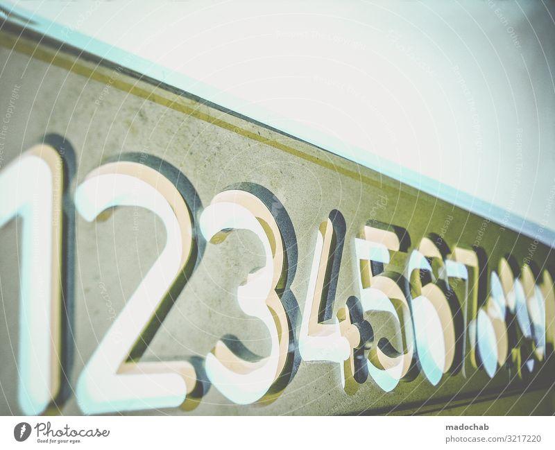 Zahlen bitte! Bildung Wissenschaften Schule lernen Lehrer Berufsausbildung Azubi Praktikum Schreibwaren Zeichen Schriftzeichen Ziffern & Zahlen rechnen
