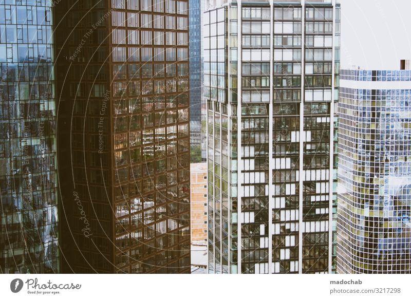 Hochhaus Bank Finanzen Stresstest Frankfurt am Main Fortschritt Zukunft Stadt Stadtzentrum Skyline Bankgebäude Erfolg gigantisch Kraft Macht Zukunftsangst