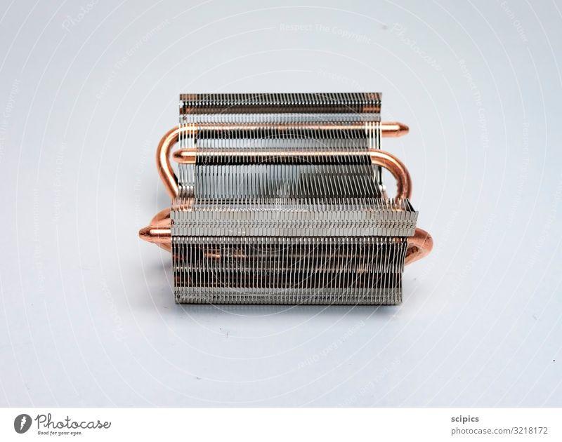 Lamellen elegant Stil Design Industrie Computer Technik & Technologie Metall Arbeit & Erwerbstätigkeit frieren Coolness exotisch glänzend kalt Schutz gefährlich