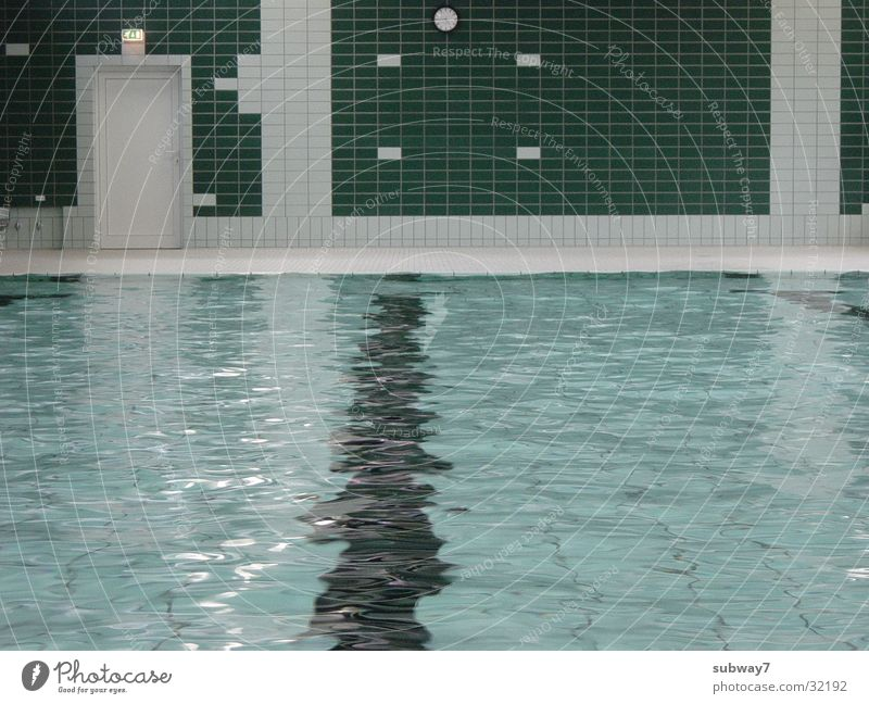 Badewasser Schwimmbad grün Sport Freizeit & Hobby Wasser Fliesen u. Kacheln