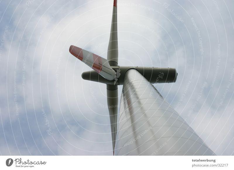 Windmühle Wolken Wind Elektrizität Technik & Technologie Windkraftanlage Elektrisches Gerät