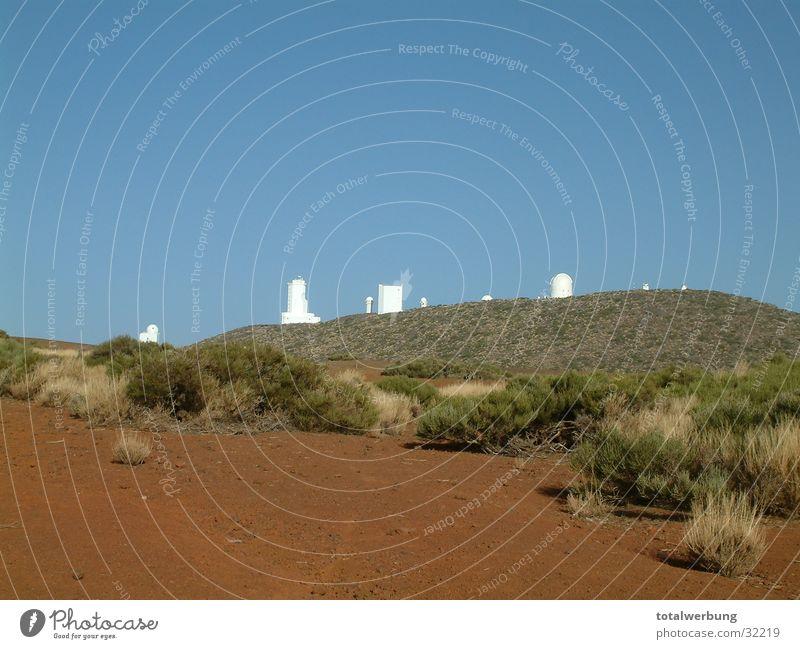 Sternenwarte Teneriffa Europa Wüste Himmel Mars