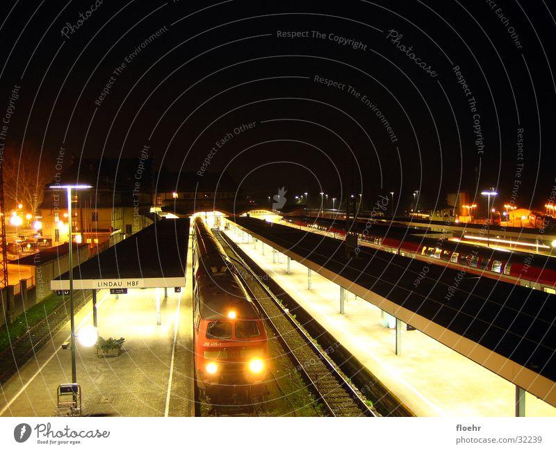 Nightrail II Eisenbahn Technik & Technologie Bahnhof Lokomotive Elektrisches Gerät Eisenbahnwaggon Lindau