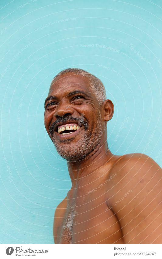 Mensch Mann blau Stadt schön Erotik Freude Gesundheit Gesicht Auge Lifestyle Erwachsene Leben natürlich Gefühle Glück