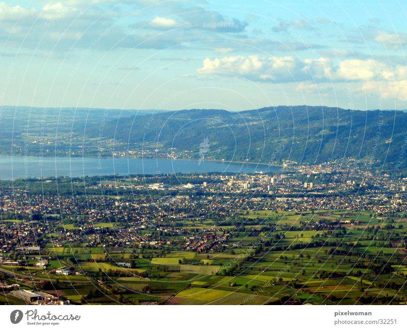 Panorama Landschaft groß Aussicht