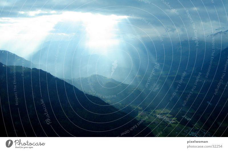 Himmel und Erde Natur Wolken Berge u. Gebirge Wetter