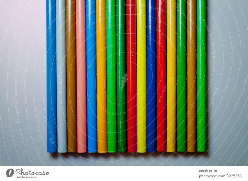 16 Pastellstifte Hobelbank mehrfarbig Farbstift Entwurf Farbe Farbstoff Mediengestalter Grafiker Grafik u. Illustration Idee Kreativität Kunst Künstler Gemälde