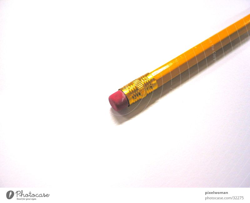 Bleistift Schreibstift Bleistift Gummi Fototechnik