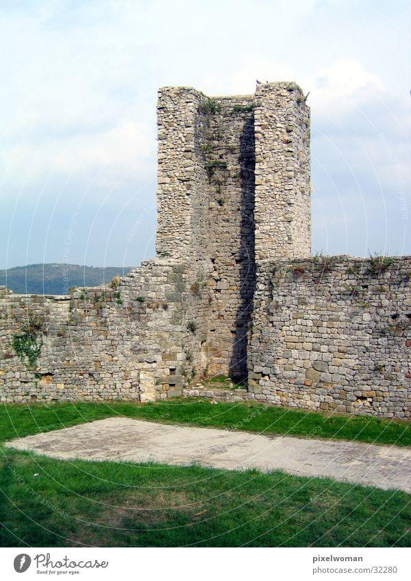 Mauer Stein Mauer Architektur Aussicht Turm