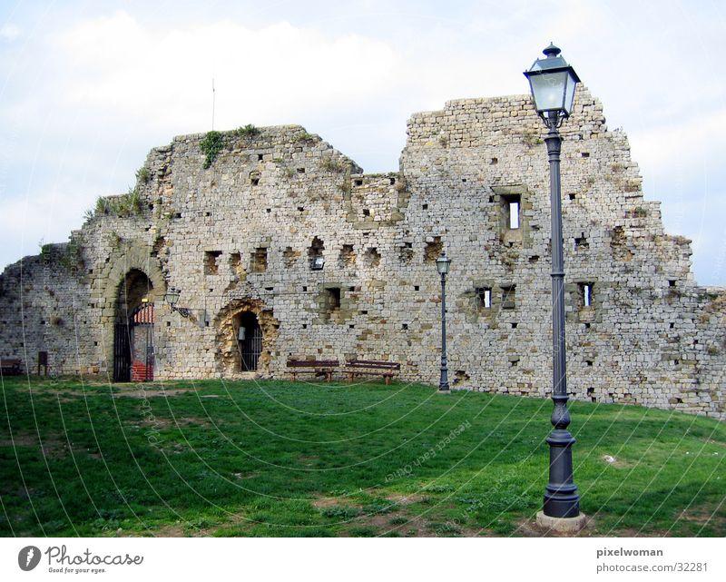 Ruine Stein Architektur Italien Altbau