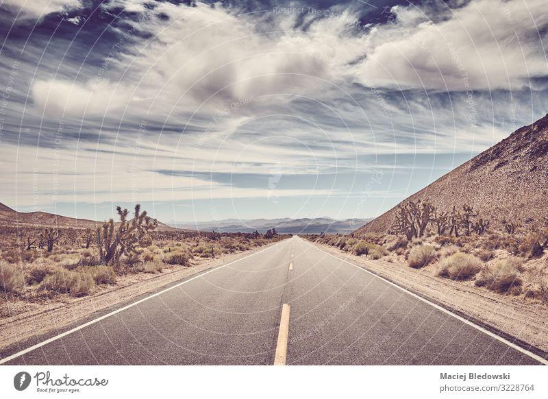 Panoramastraße im Death Valley, USA. Ferien & Urlaub & Reisen Ausflug Abenteuer Ferne Freiheit Expedition Fahrradtour Sommer Sommerurlaub Natur Landschaft