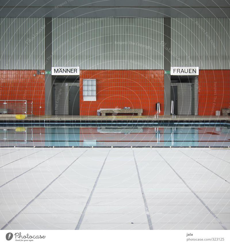 schwimmhalle Gesundheit Gesundheitswesen sportlich Fitness Schwimmen & Baden Sportstätten Schwimmbad Schwimmhalle einfach Farbfoto Innenaufnahme Menschenleer