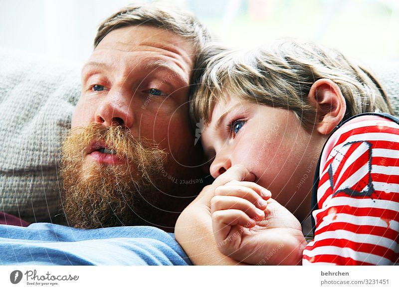 9 und 40... maskulin Kind Junge Eltern Erwachsene Vater Familie & Verwandtschaft Kindheit Körper Haut Kopf Haare & Frisuren Gesicht Auge Ohr Nase Mund Lippen