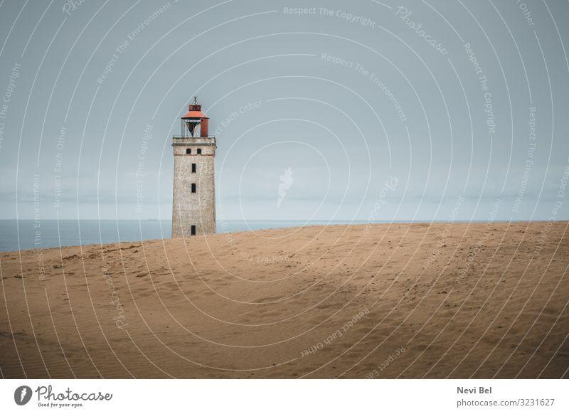 Rubjerg Knude lighthouse Ferien & Urlaub & Reisen Tourismus Ausflug Ferne Freiheit Strand Meer wandern Renovieren Umwelt Natur Landschaft Sand Himmel Wolken