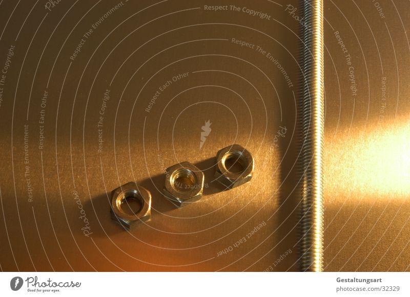 G. Winde grau Metall orange braun 3 Stahl obskur Schraube Edelstahl Sechseck Drehgewinde