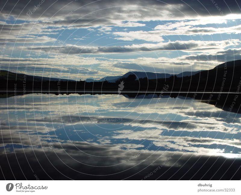 booor Wasser Wolken