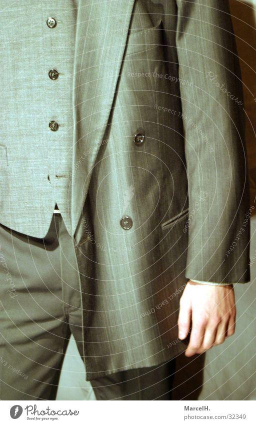 Business Dress Anzug Ladengeschäft Unternehmer Vertreter Vorgesetzter Mann Arbeit & Erwerbstätigkeit Bekleidung