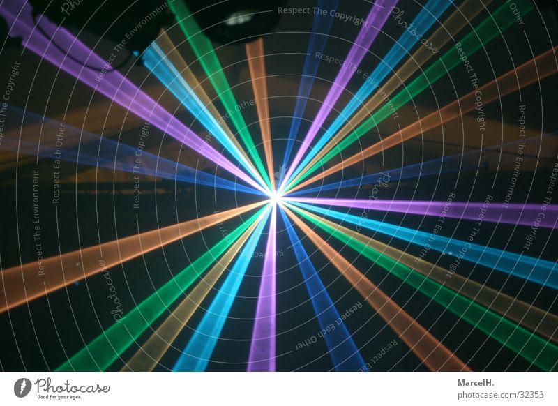 Lasershow Party Club Disco Diskjockey Feste & Feiern clubbing Technik & Technologie Show Himmel Nebel Elektrisches Gerät Sky Reaktionen u. Effekte Farbfoto