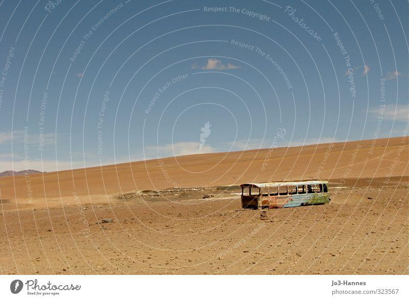Nächster Halt Südsee Wohnung Renovieren Umzug (Wohnungswechsel) Natur Landschaft Erde Sand Himmel Wolken Sommer Klimawandel Wärme Dürre Hügel Wüste Bolivien