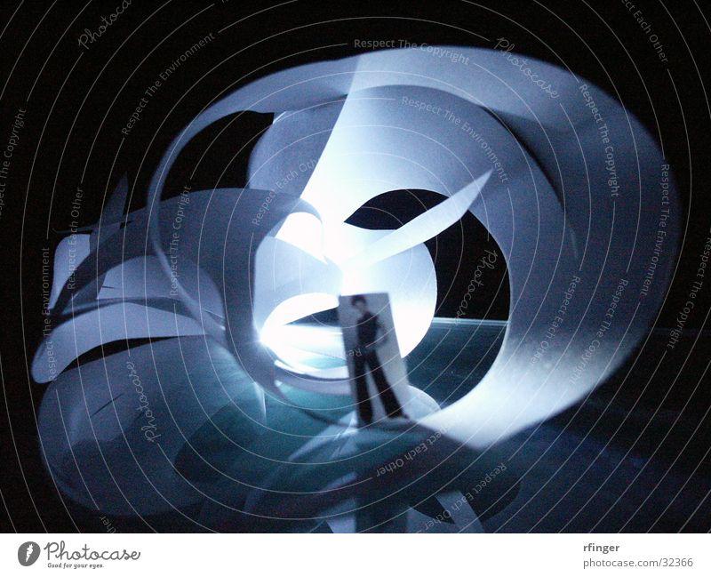 nachtflug01 Architektur Wind Unendlichkeit Hülle komplex