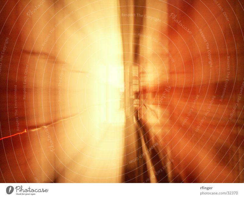 Kubikfenster Fenster Zoomeffekt Licht Mitte Langzeitbelichtung extrudiert Kubisch Würfel 3.Dimmension