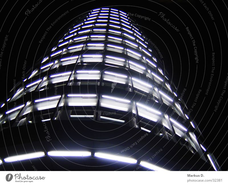 Vattenfall Tower Gebäude Architektur Hochhaus Perspektive Turm Skyline