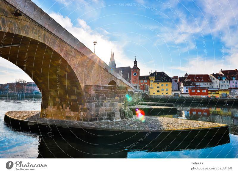 Regensburg #2 Winter ästhetisch Religion & Glaube Bayern Donau Stadt Regen Farbfoto Außenaufnahme