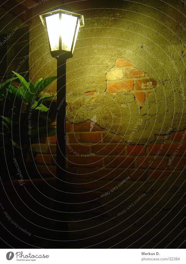 Hofbeleuchtung Lampe Garten Mauer Beleuchtung Freizeit & Hobby Bauernhof Laterne Putz