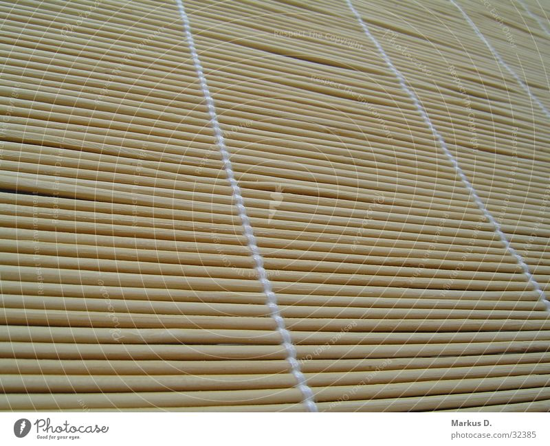 the white stripes weiß braun verrückt Bambusrohr quer Rollo