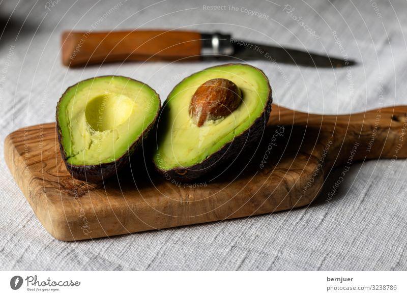 Palta Lebensmittel Gemüse Frucht Ernährung Diät Saft exotisch Natur Pflanze Stein Holz frisch braun grün weiß Avokado Vorspeise Vitamin Samen Gesundheit gesund