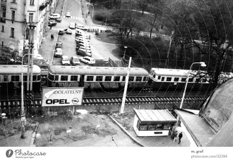 tram Verkehr Straßenbahn Prag Tschechien