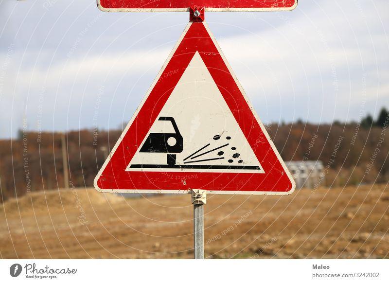 Strassenarbeiten Unfall Zeichen Reparatur Straße Warnhinweis Warnung Verkehr Baustelle Symbole & Metaphern Grafik u. Illustration Wachsamkeit Hinweisschild