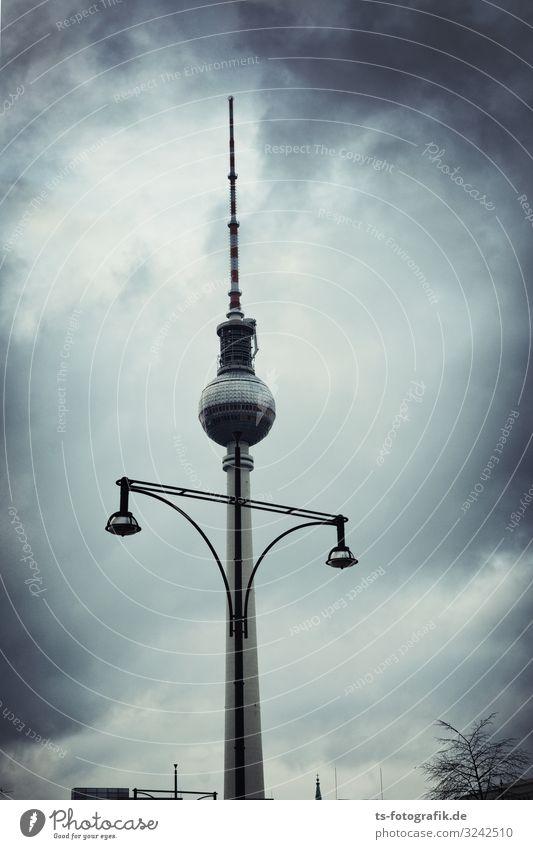 Alex, als Vogelscheuche verkleidet Technik & Technologie Unterhaltungselektronik Fortschritt Zukunft Telekommunikation Himmel Wolken Gewitterwolken Herbst