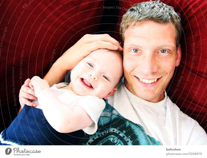 *1400* gründe zur freude:) Baby Junge Mann Erwachsene Eltern Vater Familie & Verwandtschaft Kindheit Haut Kopf Haare & Frisuren Gesicht Auge Ohr Nase Mund