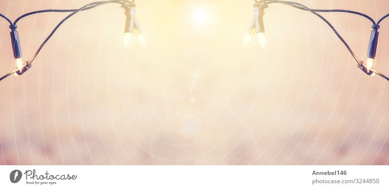 Weihnachts- und Neujahrsbanner-Hintergrund Design Glück Winter Schnee Dekoration & Verzierung Tapete Feste & Feiern Weihnachten & Advent Kunst Ornament hell neu