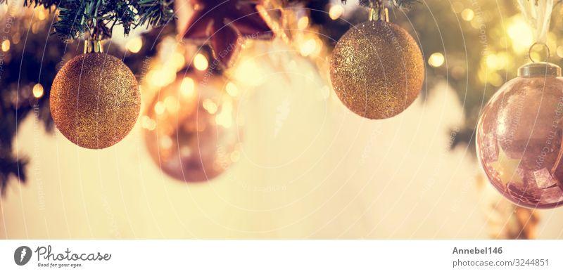 Weihnachtsdekoration Hintergrund Banner ,Feiertage Design Glück Winter Schnee Dekoration & Verzierung Feste & Feiern Weihnachten & Advent Natur Baum Ornament