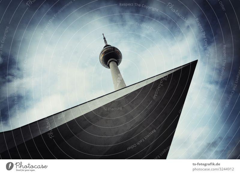 Berliner Fernsehturm will vom 50 m Brett springen Technik & Technologie Unterhaltungselektronik Telekommunikation Berlin-Mitte Alexanderplatz Deutschland DDR