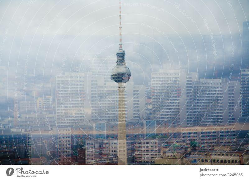 Himmelreich Sommer hoch Sightseeing Berlin-Mitte Klimawandel schlechtes Wetter
