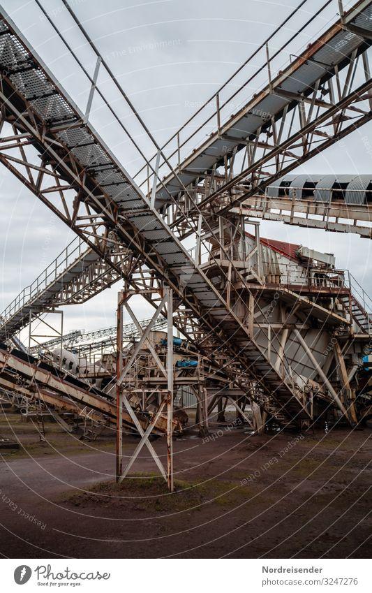 Kieswerk Arbeit & Erwerbstätigkeit Beruf Arbeitsplatz Fabrik Wirtschaft Industrie Güterverkehr & Logistik Baustelle Unternehmen Maschine Baumaschine