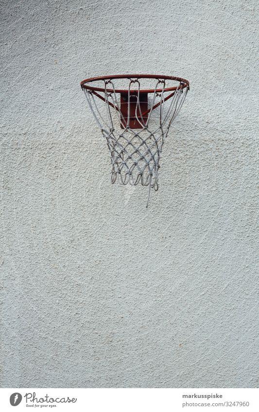 Street Basketball Korb Lifestyle Freude Glück sportlich Fitness Freizeit & Hobby Spielen Sport Sport-Training Basketballkorb Basketballplatz Ball rennen