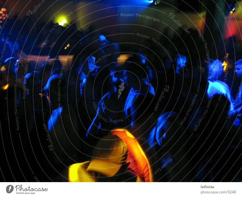 Infinite dancing blau dunkel Party Tanzen Disco Club Nachtleben