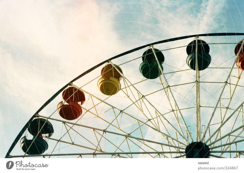 Himmel Ferien & Urlaub & Reisen Sommer Sonne Erholung ruhig Wolken Freude Gefühle Spielen Glück Park Freizeit & Hobby Lifestyle hoch rund