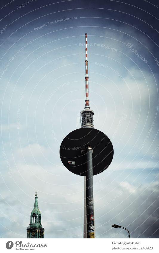 Berliner Fernsehturm spielt mal wieder Verstecken Ferien & Urlaub & Reisen Tourismus Sightseeing Städtereise Technik & Technologie Telekommunikation