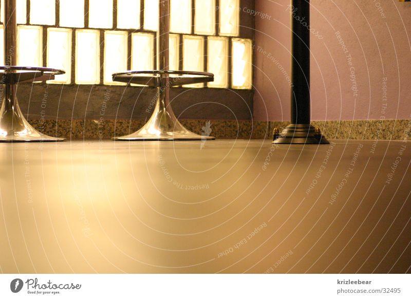 an der bar #2 Einsamkeit ruhig Wärme weich Stuhl Bar Physik Hocker