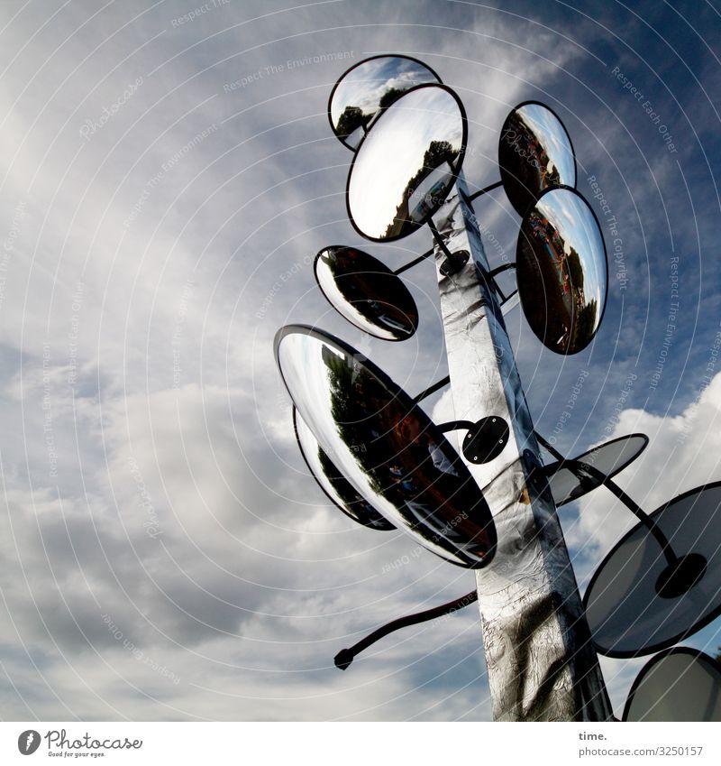Halswirbelsäulentraining (XIV) Himmel Wolken Holz Leben Kunst Stimmung Design Kommunizieren Kultur ästhetisch Kreativität Schönes Wetter hoch Idee Neugier