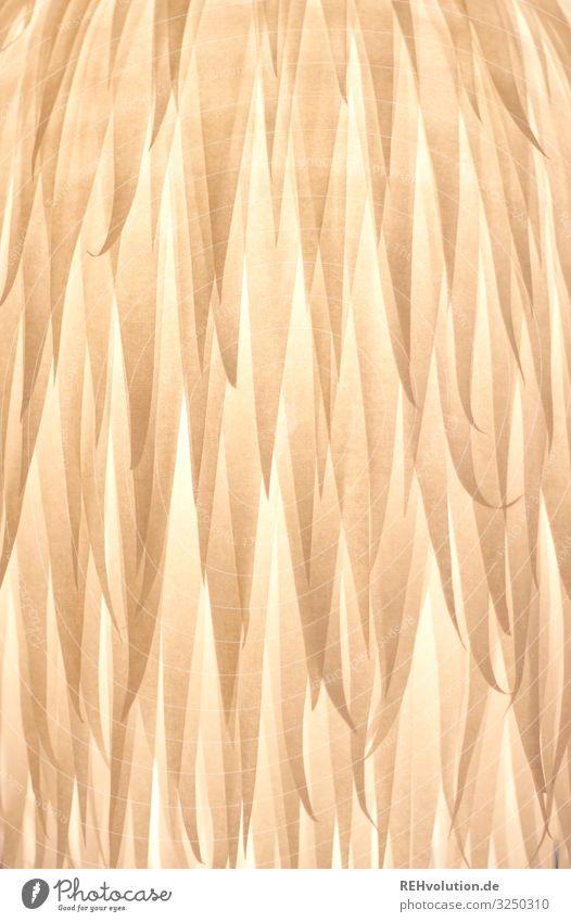 Papiermuster Fell gebastelt Hintergrund Hintergrundbild Muster Licht leuchten Strukturen & Formen struktur Gelbstich gelblich warm Lampe Lampenschirm Kunstlicht
