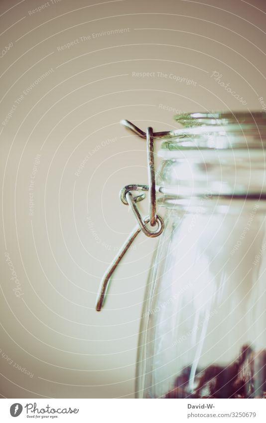 Einmachglas Glasbehälter mit Weintrauben nachhaltiger Glasbehälter Körner Zukunftsangst umweltfreundlich Umwelt umweltbewusstsein bewußt Plastikwelt