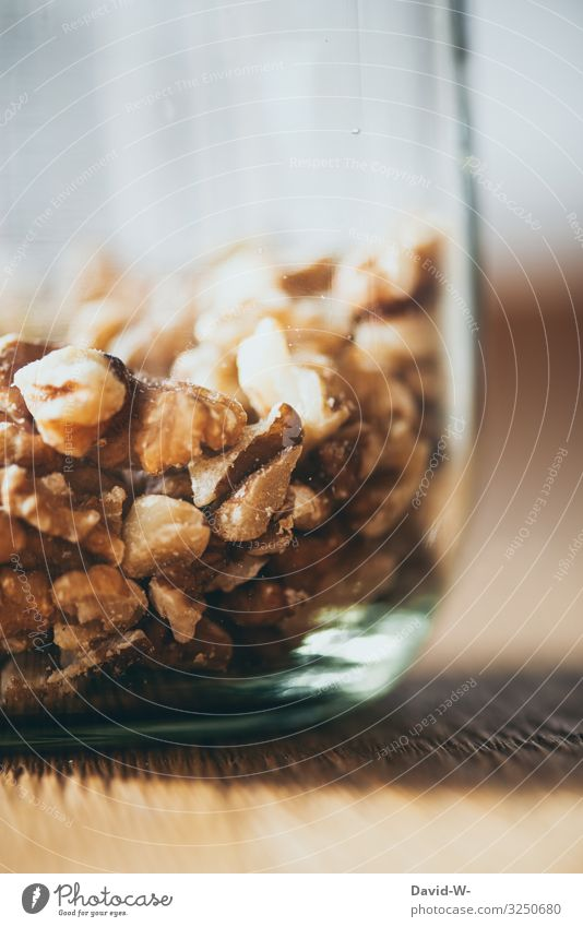 Plastikfrei - Glasbehälter mit Nüssen nachhaltig Nachhaltigkeit einmachgläser Einmachglas Haferflocken aufbewahren aufbewahrungsbehälter Behälter u. Gefäße
